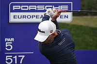Paul Waring (ENG) in action during the first round of the Porsche European Open , Green Eagle Golf Club, Hamburg, Germany. 05/09/2019<br /> Picture: Golffile | Phil Inglis<br /> <br /> <br /> All photo usage must carry mandatory copyright credit (© Golffile | Phil Inglis)