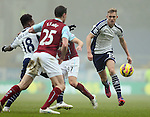 Darren Fletcher of West Bromwich Albion runs in to take possession - Barclays Premier League - Burnley vs West Bromwich Albion - Turf Moor Stadium  - Burnley - England - 8th February 2015 - Picture Simon Bellis/Sportimage