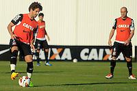 SAO PAULO, SP 16 JULHO 2013 - TREINO CORINTHIANS - O jogador do Corinthians Alexandre Pato, treinou na tarde de hoje, 16, no Ct. Dr. Joaquim Grava, na zona leste de São Paulo. FOTO: PAULO FISCHER/BRAZIL PHOTO PRESS