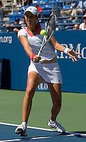 Kristina Barrois (GER) against Dinara Safina (RUS) (1) in the seocnd round. Safina beat Barrois 6-7 6-2 6-3 ..International Tennis - US Open - Day 3 Wed 02 Sep 2009 - USTA Billie Jean King National Tennis Center - Flushing - New York - USA ..© Frey, Advantage Media Network, Level 1, Barry House, 20-22 Worple Road, London, SW19 4DH +44 208 947 0100..