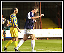 31/8/02       Collect Pic : James Stewart                     .File Name : stewart-falkirk v qots 03.FALKIRK'S ANDY LAWRIE CELEBRATES AFTER HE SCORED THE FIRST GOAL....James Stewart Photo Agency, 19 Carronlea Drive, Falkirk. FK2 8DN      Vat Reg No. 607 6932 25.Office : +44 (0)1324 570906     .Mobile : + 44 (0)7721 416997.Fax     :  +44 (0)1324 570906.E-mail : jim@jspa.co.uk.If you require further information then contact Jim Stewart on any of the numbers above.........