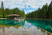 photos, pictures, images of Upper Peninsula Michigan inland lakes, big spring, kitch, kitchitikipi