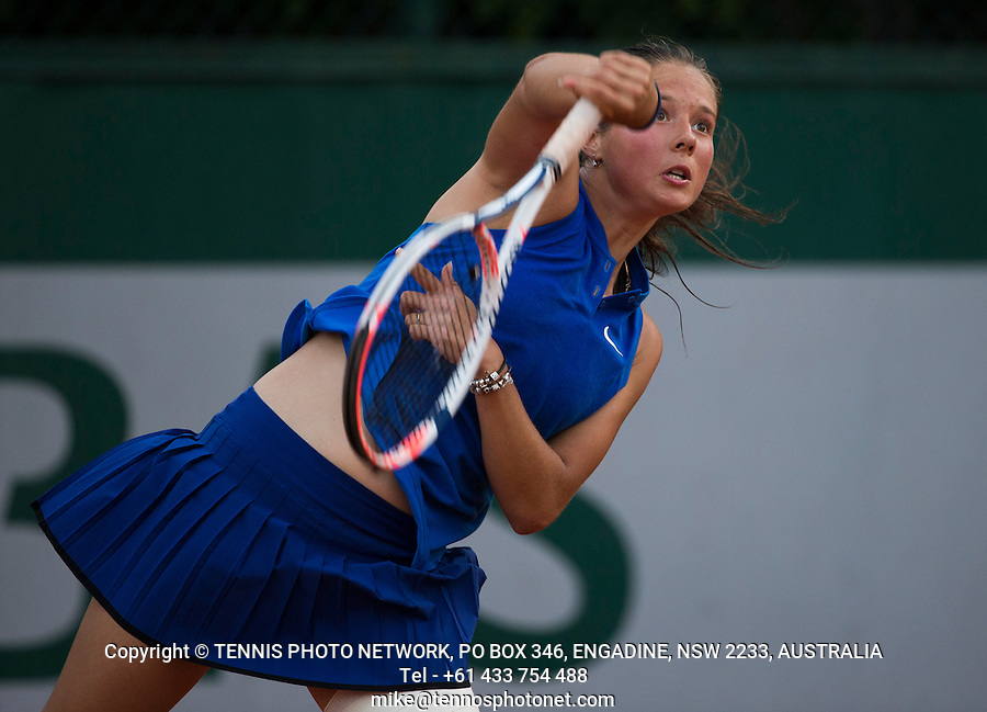 DARIA KASATKINA (RUS)<br /> <br /> TENNIS - FRENCH OPEN - ROLAND GARROS - ATP - WTA - ITF - GRAND SLAM - CHAMPIONSHIPS - PARIS - FRANCE - 2016  <br /> <br /> <br /> <br /> &copy; TENNIS PHOTO NETWORK