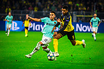 05.11.2019, Signal Iduna Park, Dortmund , GER, Champions League, Gruppenphase, Borussia Dortmund vs Inter Mailand, UEFA REGULATIONS PROHIBIT ANY USE OF PHOTOGRAPHS AS IMAGE SEQUENCES AND/OR QUASI-VIDEO<br /> <br /> im Bild | picture shows:<br /> Zweikampf | Duell zwischen Alexis Sanchez (Inter #7) und Manuel Akanji (Borussia Dortmund #16), <br /> <br /> Foto © nordphoto / Rauch