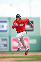 Boston Red Sox Imeldo Diaz (3) during an Instructional League game against the Minnesota Twins on September 23, 2016 at JetBlue Park at Fenway South in Fort Myers, Florida.  (Mike Janes/Four Seam Images)