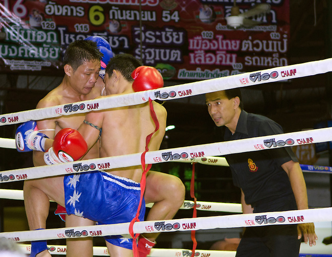 Bangkok, August 30,2011 Lumpini Muay Thai boxing stadium