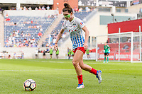 Bridgeview, IL - Saturday July 22, 2017: Arin Gilliland during a regular season National Women's Soccer League (NWSL) match between the Chicago Red Stars and the Orlando Pride at Toyota Park. The Red Stars won 2-1.