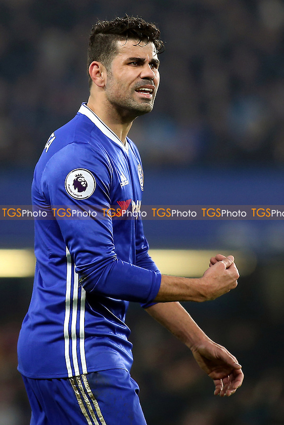 Diego Costa of Chelsea during Chelsea vs Hull City, Premier League Football at Stamford Bridge on 22nd January 2017