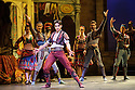 London, UK. 12.01.2016. English National Ballet present Le Corsaire, at the London Coliseum. Picture shows: Cesar Corrales (Birbanto). Photograph © Jane Hobson.