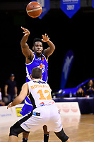 Saints&rsquo; LJ Peak in action during the NBL - Cigna Saints v Hawkes Bay Hawks at TSB Arena, Wellington, New Zealand on Sunday 27 May 2018.<br /> Photo by Masanori Udagawa. <br /> www.photowellington.photoshelter.com