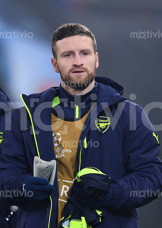 FUSSBALL CHAMPIONS LEAGUE SAISON 2016/2017 GRUPPENPHASE FC Basel - Arsenal London            06.12.2016 Shkodran Mustafi (Arsenal London)