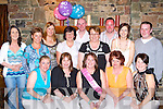 Elizabeth Griffin Killarney celebrated her 40th birthday with her friends and family in the Beaufort Bar on Saturday night front row l-r: Margaret Cronin-Roberts, Kay O'Connor, Elizabeth griffin, Trina O'Connor, Siobhain Buckley. Back row: Maeve O'Leary, Marie Callaghan, Bronagh Brosnan, Catherine Crowley, Trevor Buckley, Kay Daly, Kevin O'Leary, Julianne Buckley and David Sheehan   Copyright Kerry's Eye 2008