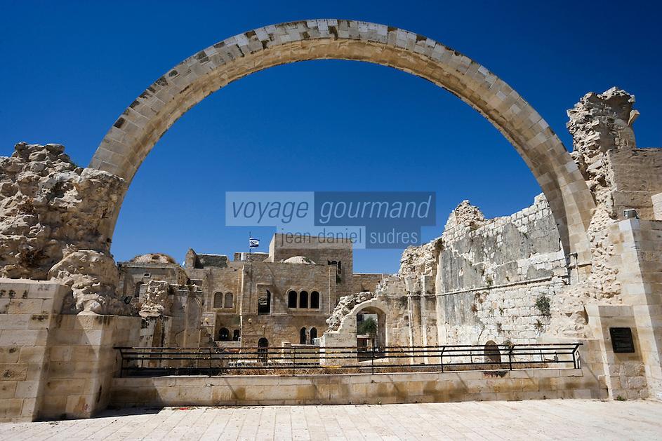 Asie/Israël/Judée/JérusalemArche du Cardo de Jérusalem