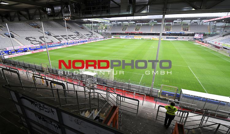 FussballFussball: agnph001:  1. Bundesliga Saison 2019/2020 27. Spieltag 23.05.2020<br /> SC Freiburg - SV Werder Bremen<br /> Das Schwarzwald Stadion vor dem Spiel.<br /> FOTO: Markus Ulmer/Pressefoto Ulmer/ /Pool/gumzmedia/nordphoto<br /> <br /> Nur für journalistische Zwecke! Only for editorial use! <br /> No commercial usage!