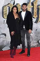 Riyad Mahrez &amp; wife Rita Mahrez at the European premiere for &quot;King Arthur: Legend of the Sword&quot; at the Cineworld Empire in London, UK. <br /> 10 May  2017<br /> Picture: Steve Vas/Featureflash/SilverHub 0208 004 5359 sales@silverhubmedia.com