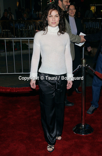 """Julie Warner arriving at the Premiere of """"The Life Of David Gale"""" at the Universal Cineplex Theatre in Los Angeles. February 18, 2003"""