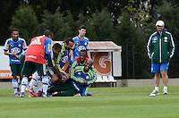 SAO PAULO, 31 DE JULHO DE 2012 - TREINO PALMEIRAS - O jogador Marcos Assuncao durante treino do Palmeiras na tarde desta terca feira, no ct do clube, na barra funda, regiao oeste da capital. FOTO: ALEXANDRE MOREIRA - BRAZIL PHOTO PRESS