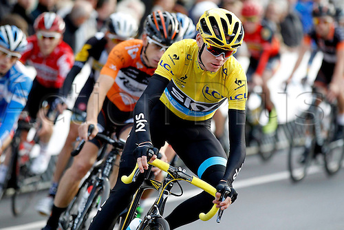28.07.2015. Roeselare, Belgium. Criterium Roeselare Natour. The city of Roeselare hosts a delegate field with the  main riders of the Tour de France 2015. FROOME CHRISTOPHER