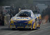 Jan. 16, 2013; Jupiter, FL, USA: NHRA funny car driver Ron Capps during testing at the PRO Winter Warmup at Palm Beach International Raceway.  Mandatory Credit: Mark J. Rebilas-