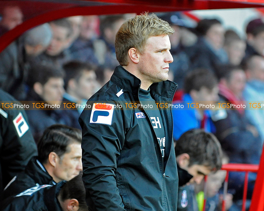 AFC Bournemouth Manager Eddie Howe - AFC Bournemouth vs Ipswich Town - Sky Bet Championship Football at the Goldsands Stadium, Bournemouth, Dorset - 29/12/13 - MANDATORY CREDIT: Denis Murphy/TGSPHOTO - Self billing applies where appropriate - 0845 094 6026 - contact@tgsphoto.co.uk - NO UNPAID USE