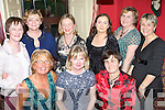 LADIES REUNION: Former staff of Carraig Donn having a wonderful Women's Christmas in The Brogue Inn on Sunday night were seated l-r: Teresa Nolan, Caroline Burke and Ann Quirke. Standing l-r: Maura Flynn, Rachel O'Connor, Roselyn Boyd, Carmel Dwyer, Mary Deane and Lynda O'Connor..   Copyright Kerry's Eye 2008