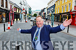 We're finally opened Paul Sherry Chairman of the Killarney Chamber of Commerce  on Tuesday