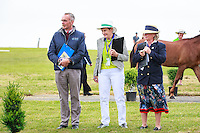 The Ground Jury during the First Horse Inspection. 2016 NZL-Puhinui International 3 Day Event. Puhinui Reserve, Auckland. Thursday 8 December. Copyright Photo: Libby Law Photography