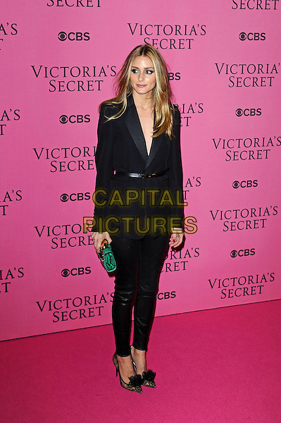 LONDON, ENGLAND - DECEMBER 2: Olivia Palermo attends the pink carpet for Victoria's Secret Fashion Show 2014, Earls Court on December 2, 2014 in London, England.<br /> CAP/MAR<br /> &copy; Martin Harris/Capital Pictures