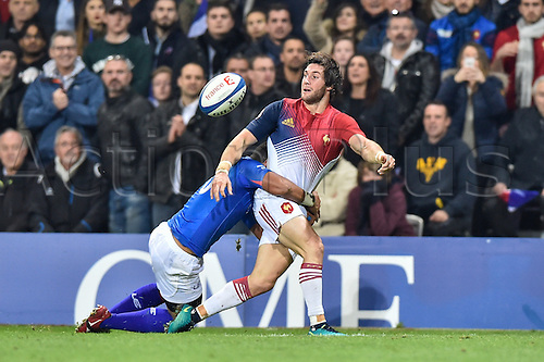 12.11.2016. Stadium Toulouse, Toulouse, France. Autumn International rugby match, France versus Samoa.  Maxime Machenaud (fr)