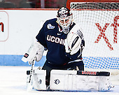 Rob Nichols (UConn - 31) - The Boston University Terriers defeated the visiting University of Connecticut Huskies 4-2 (EN) on Saturday, October 24, 2015, at Agganis Arena in Boston, Massachusetts.