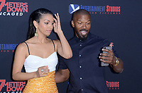 """LOS ANGELES - AUG 13:  Corinne Foxx, Jamie Foxx at the """"47 Meters Down: Uncaged"""" Los Angeles Premiere at the Village Theater on August 13, 2019 in Westwood, CA"""