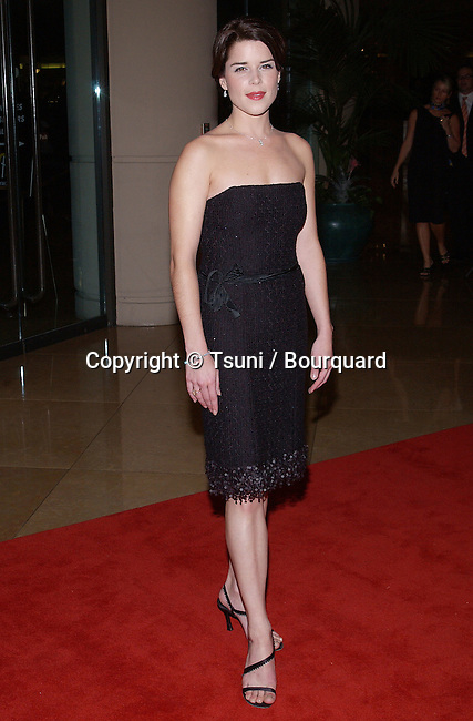 "Neve Campbell arriving at the "" HOLLYWOOD AWARDS GALA CEREMONY - 2003 "" at the Beverly Hilton in Los Angeles. October 20, 2003."