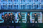 SUPER JUNIOR, .Jan 11, 2012.The 26th Golden Disk Awards Osaka was held in Japan. A well known Korean music award took place for the first time overseas and was held for two days, starring famous Korean pop groups.(Photo by Akihiro Sugimoto/AFLO) [1080]