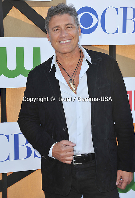 Steven Bauer  arriving at the CBS tca 2013 at the Beverly Hilton In Los Angeles.