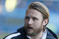 Bjorn Hamberg, assistant coach for Swansea stands on the touch line during the Sky Bet Championship match between Sheffield Wednesday and Swansea City at Hillsborough Stadium, Sheffield, England, UK. Saturday 23 February 2019