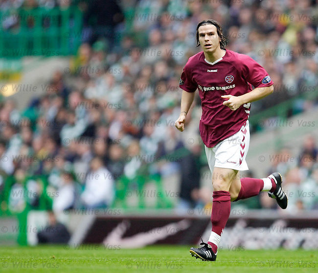 Julien Brellier, Hearts.stock season 2005-2006.pic willie vass