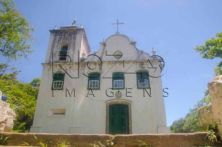 Igreja Nossa Senhora de Santana, na península de Freguesia de Santana em Ilha Grande, Angra dos Reis - RJ, 01/2014.