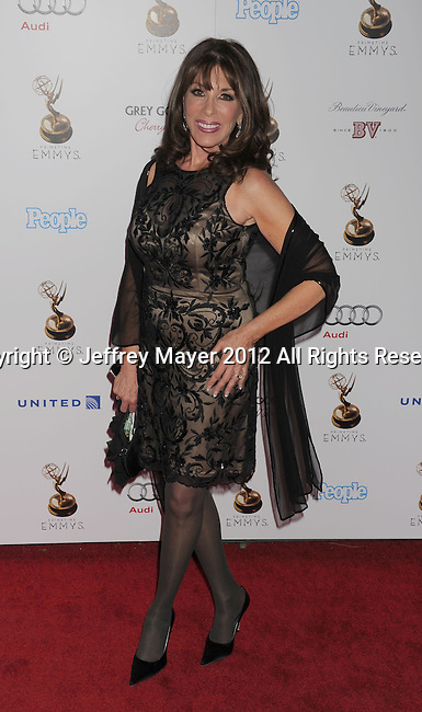 WEST HOLLYWOOD, CA - SEPTEMBER 21: Kate Linder attends the 64th Primetime Emmy Awards Performers Nominee reception held at Spectra by Wolfgang Puck at the Pacific Design Center on September 21, 2012 in West Hollywood, California.