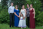 Wedding of Laura Anderson and Todd Held in Sterling Alaska July 28, 2018.