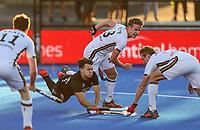 Dominic Newman. Pro League Hockey, Vantage Blacksticks v Germany. Nga Puna Wai Hockey Stadium, Christchurch, New Zealand. Friday 15th February 2019. Photo: Simon Watts/Hockey NZ