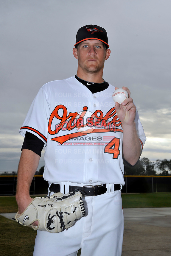 Feb 27, 2010; Tampa, FL, USA; Baltimore Orioles  pitcher Troy Patton (40) during  photoday at Ed Smith Stadium. Mandatory Credit: Tomasso De Rosa/ Four Seam Images