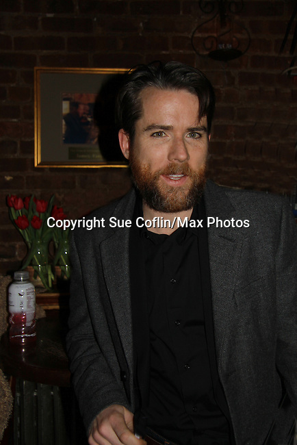 """A Benefit reading of Flutter By's directed by Lea DeLaria (OLTL), written by Frank Christopher and participating were Brian Kerwin (OLTL), Christian Campbell """"Bobby Warner"""" AMC is presented by Smoke Jazz Club on January 8, 2012 with proceeds donated to Broadway Cares Equity Fights Aids.  (Photo by Sue Coflin/Max Photos)"""