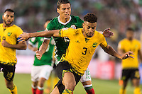 Pasadena, CA - Thursday June 09, 2016: Michael Hector during a Copa America Centenario Group C match between Mexico (MEX) and Jamaica (JAM) at Rose Bowl Stadium.