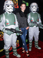 "CENTURY CITY, CA, USA - SEPTEMBER 27: Jaime King arrives at the Los Angeles Screening Of Disney XD's ""Star Wars Rebels: Spark Of Rebellion"" held at the AMC Century City 15 Theatre on September 27, 2014 in Century City, California, United States. (Photo by Celebrity Monitor)"