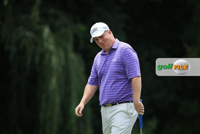 Wry smile from Ross McGowan (ENG) in action during Round Three of the 2016 BMW SA Open hosted by City of Ekurhuleni, played at the Glendower Golf Club, Gauteng, Johannesburg, South Africa.  09/01/2016. Picture: Golffile | David Lloyd<br /> <br /> All photos usage must carry mandatory copyright credit (&copy; Golffile | David Lloyd)