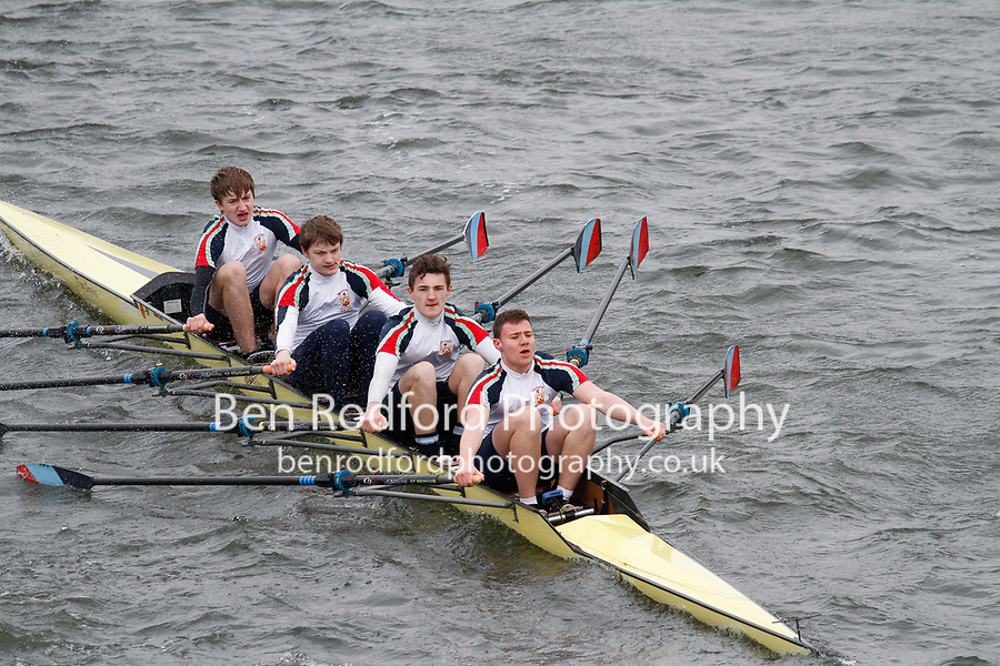 Crew: 90  Leys School BC  Event: CHAMP quads<br /> <br /> Schools' Head of the River 2017<br /> <br /> To purchase this photo, or to see pricing information for Prints and Downloads, click the blue 'Add to Cart' button at the top-right of the page.