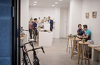 The Espresso Mafia coffee bar is another enterprise (like La Fabrica) owned by former professional cyclist Christian Meier and his wife, Amber Meier.
