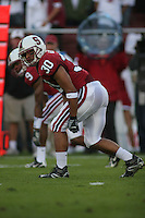 4 November 2006: Marcus McCutcheon during Stanford's 42-0 loss to USC at Stanford Stadium in Stanford, CA.