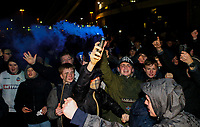 Bolton Wanderers fans protest outside the University of Bolton Stadium<br /> <br /> Photographer Alex Dodd/CameraSport<br /> <br /> The EFL Sky Bet Championship - Bolton Wanderers v West Bromwich Albion - Monday 21st January 2019 - University of Bolton Stadium - Bolton<br /> <br /> World Copyright © 2019 CameraSport. All rights reserved. 43 Linden Ave. Countesthorpe. Leicester. England. LE8 5PG - Tel: +44 (0) 116 277 4147 - admin@camerasport.com - www.camerasport.com