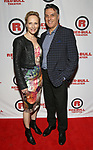 Laila Robbins and Robert Cuccioli attends the Opening Night Party for Red Bull Theater's All-Female MAC BETH at Houston Hall on May 19, 2019 in New York City.